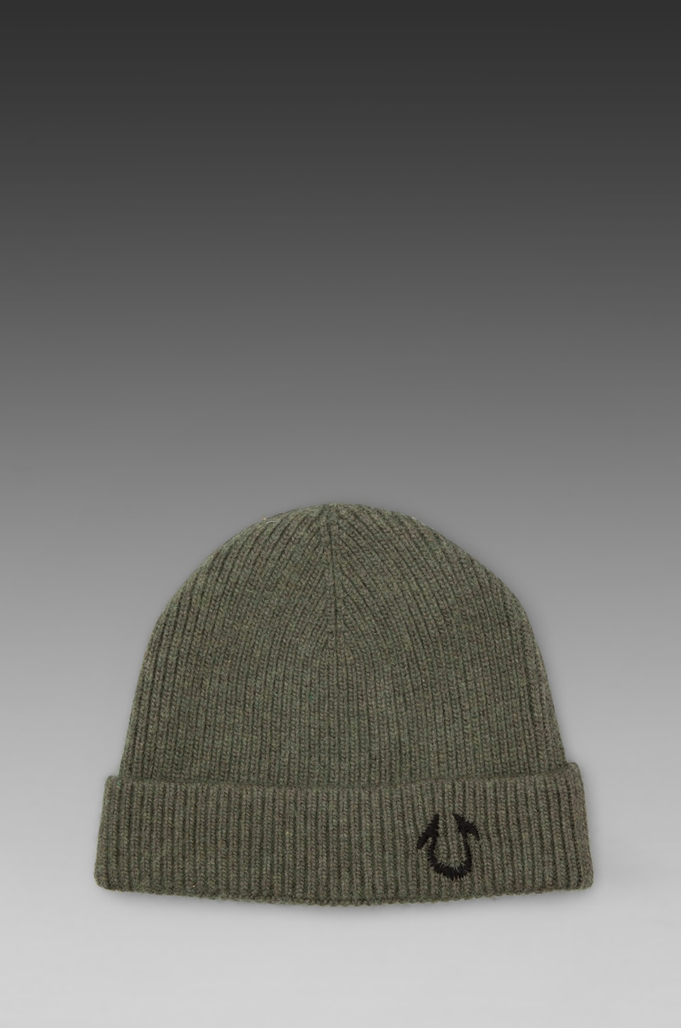 True Religion Solid Watchcap in Military