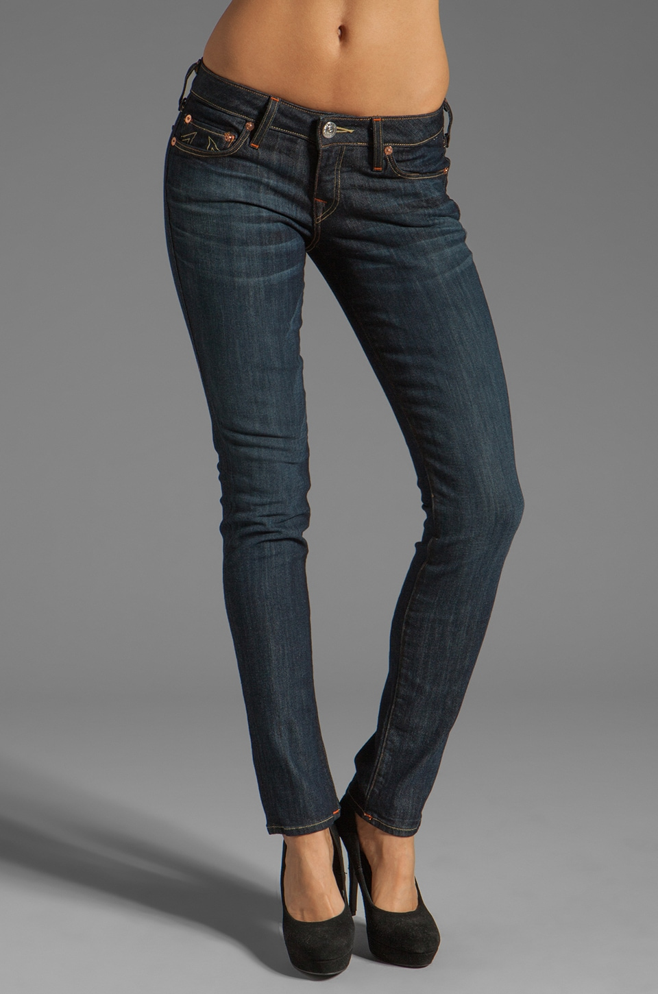 True Religion Stella Skinny in Tim Luckdraw