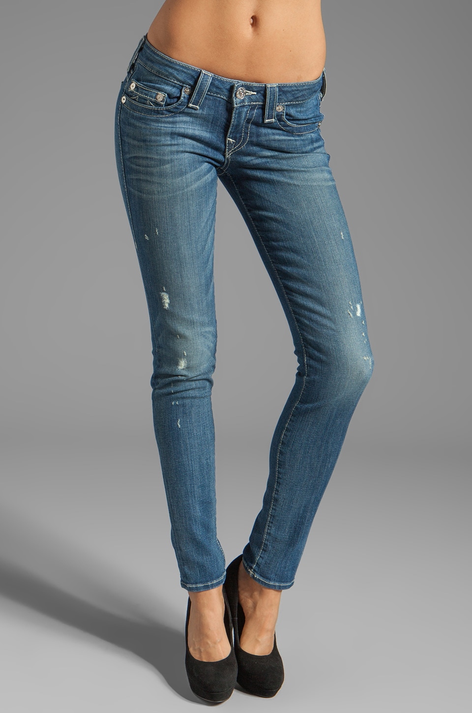 True Religion Stella 32 Skinny in Sandwall