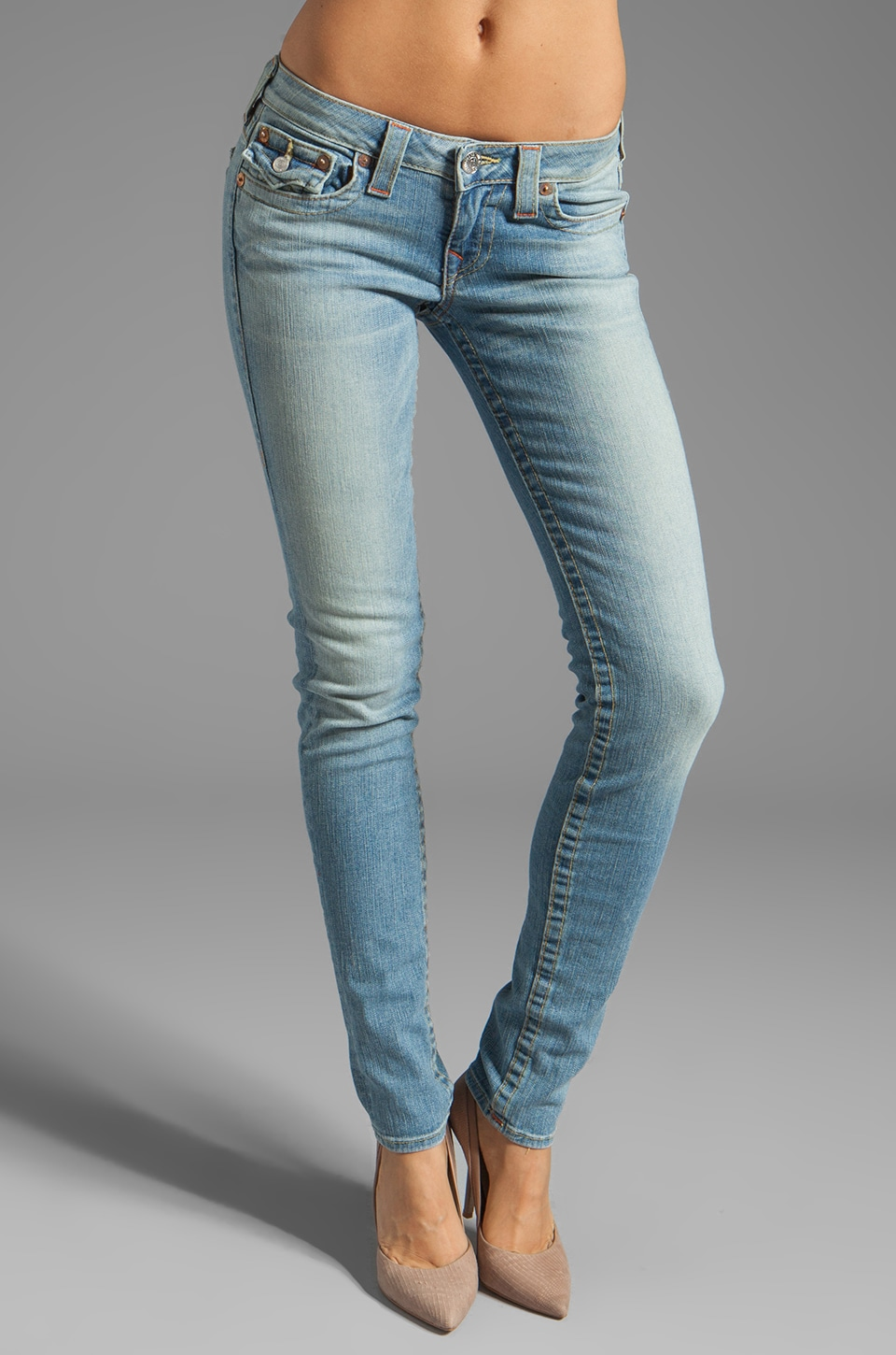 True Religion Classic Julie Skinny in Sunset Pass
