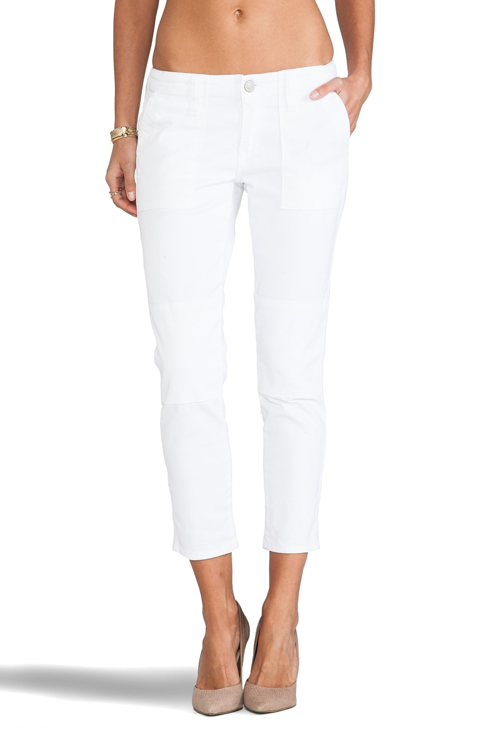 True Religion Surplus Joyce Skinny in White