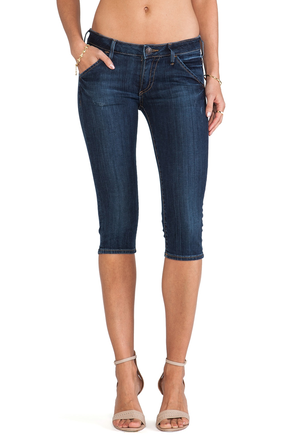 True Religion Tawny Crop in Brisk Walk
