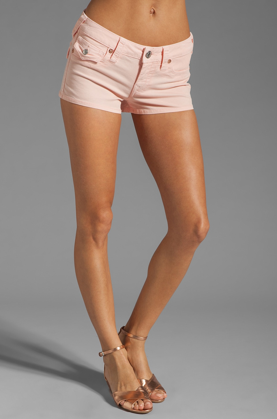 True Religion Joey Short in Baby Pink