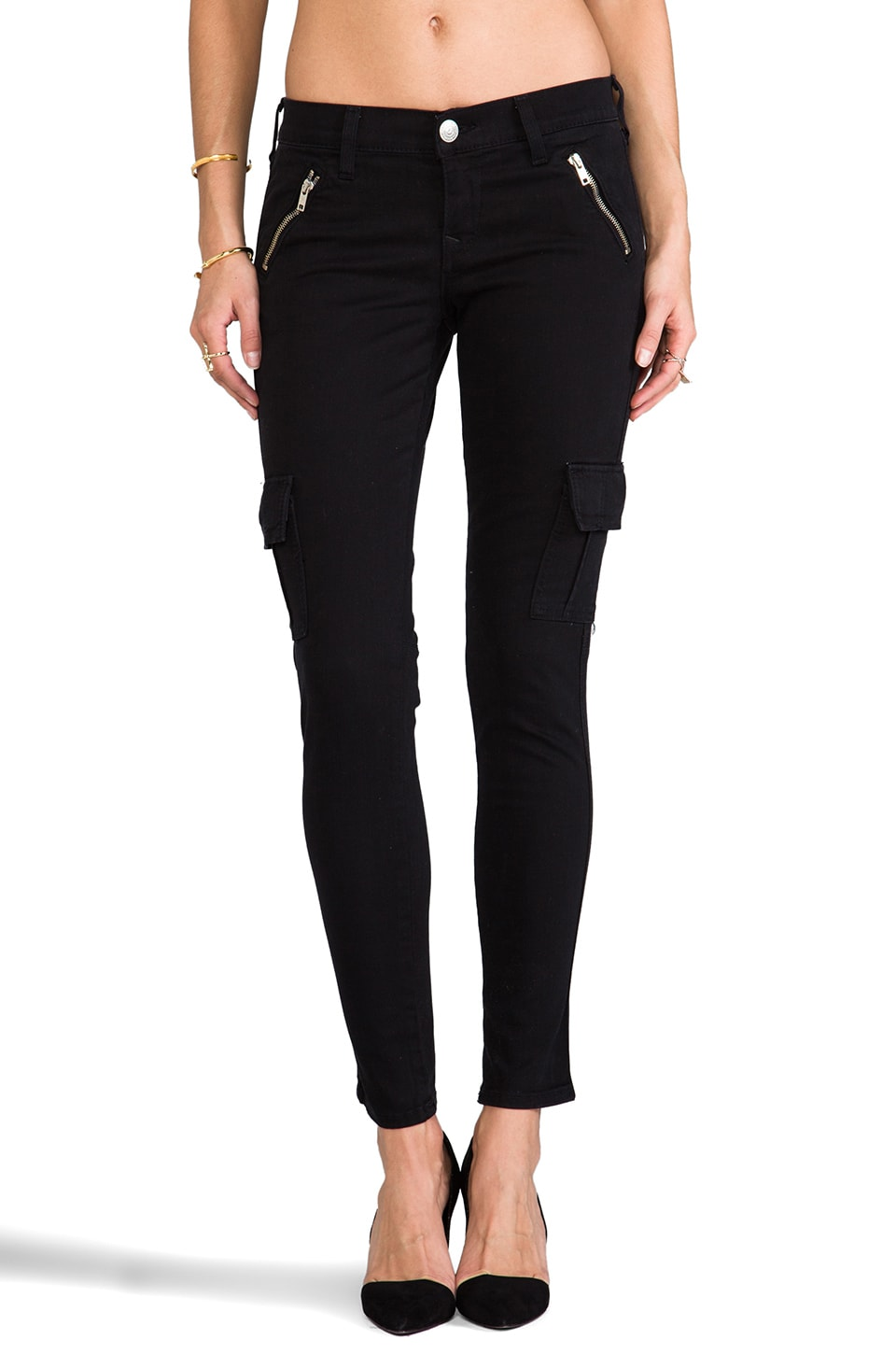 True Religion Casey Cargo in Black