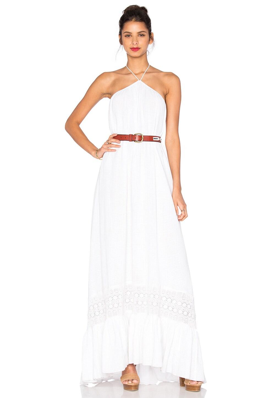 TRYB212 White Saara Maxi Dress