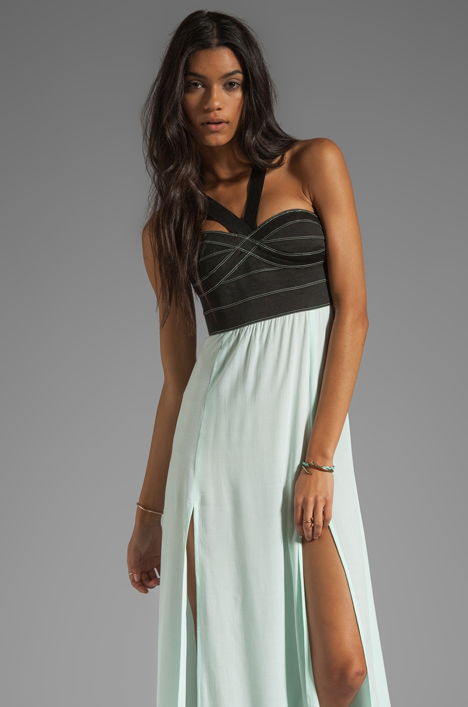 This is a Love Song Boulevard Dress in Clearwater