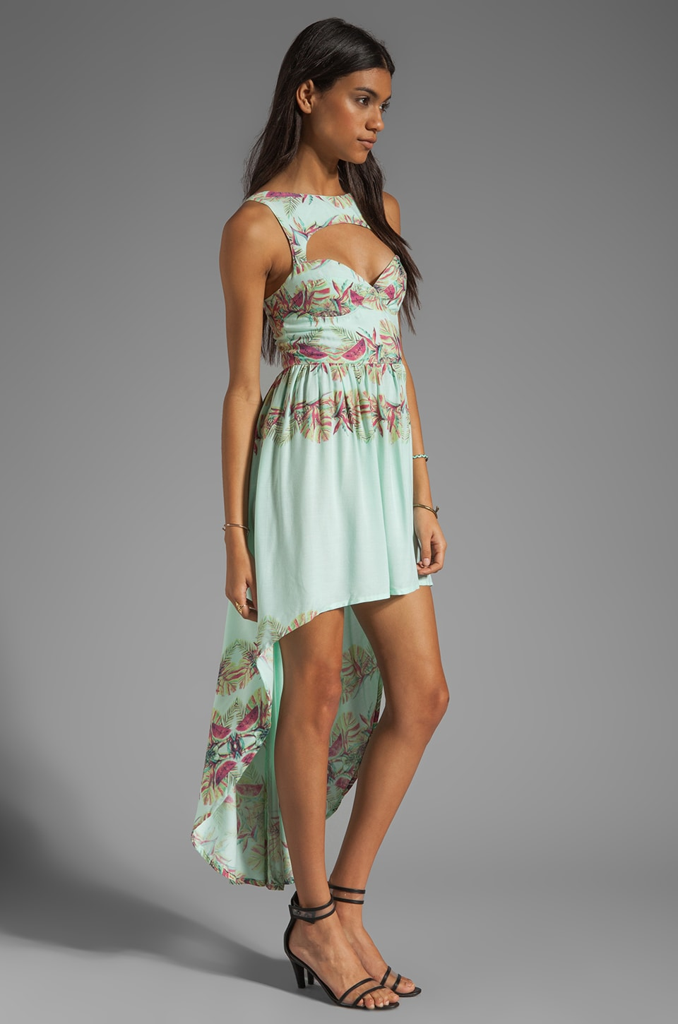 This is a Love Song Marina Del Ray Dress in Tropical