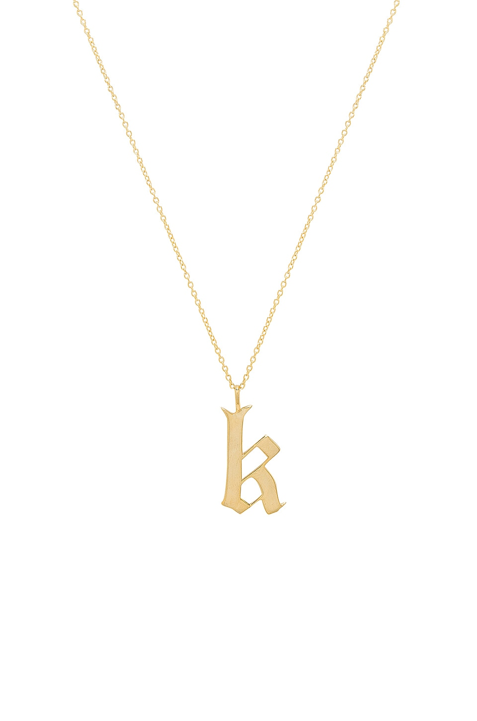 The Old English K Pendant