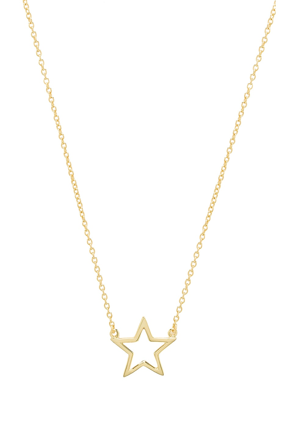 THE M JEWELERS NY THE STAR CUT OUT NECKLACE