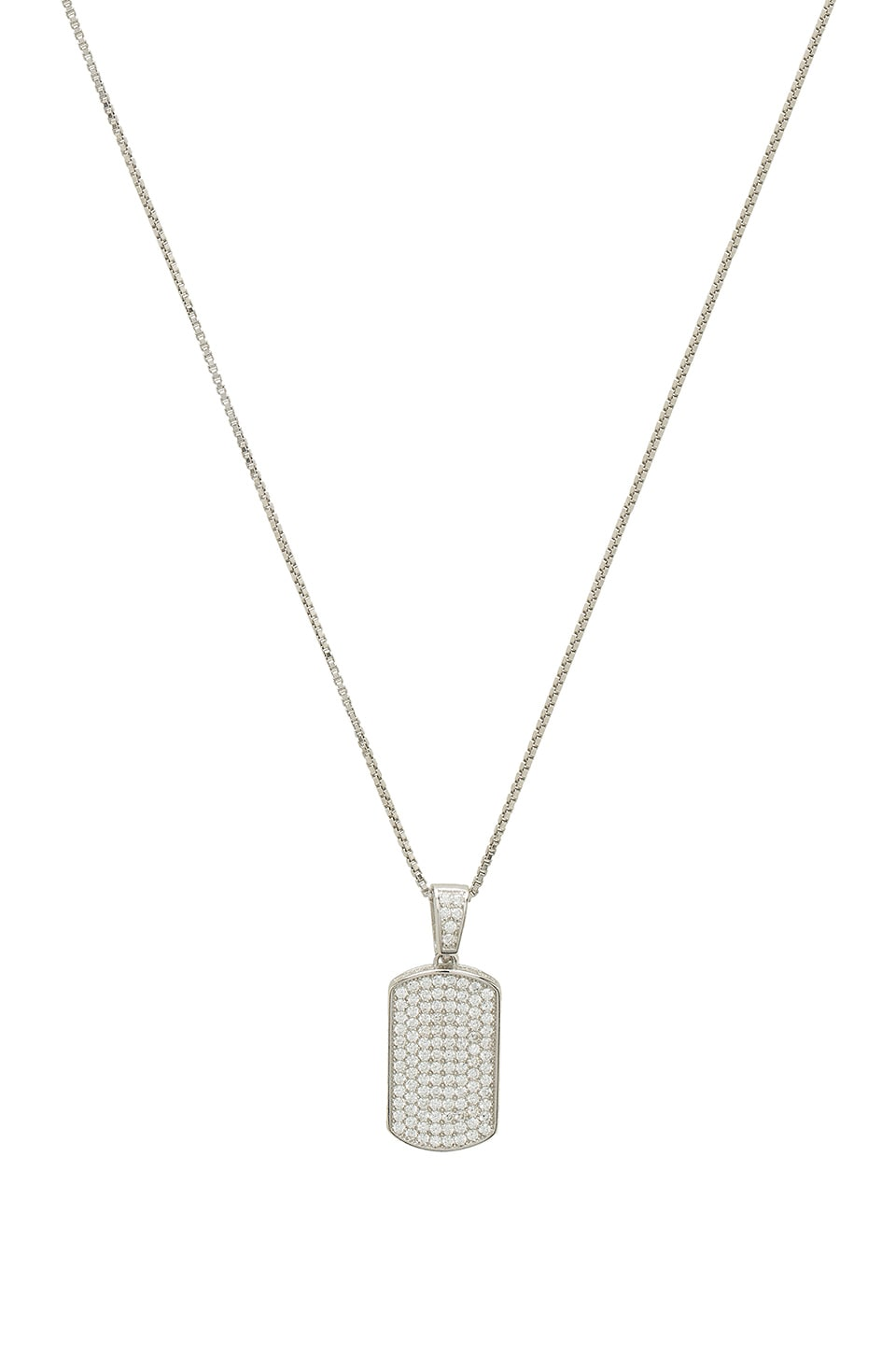 THE M JEWELERS NY THE MINI DOG TAG NECKLACE