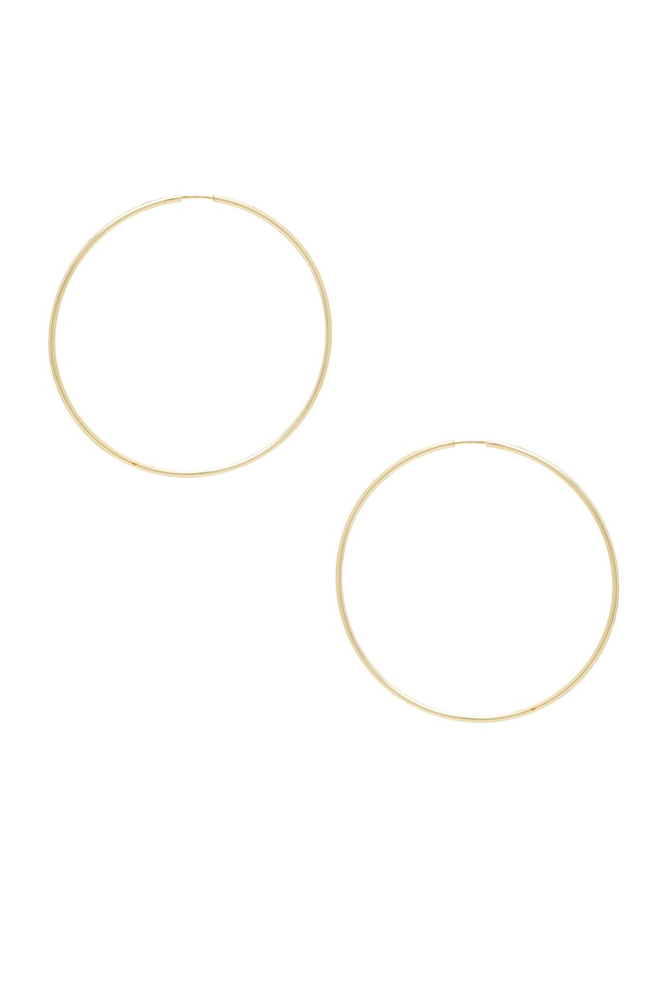 THE M JEWELERS NY EXTRA LARGE HOOPS