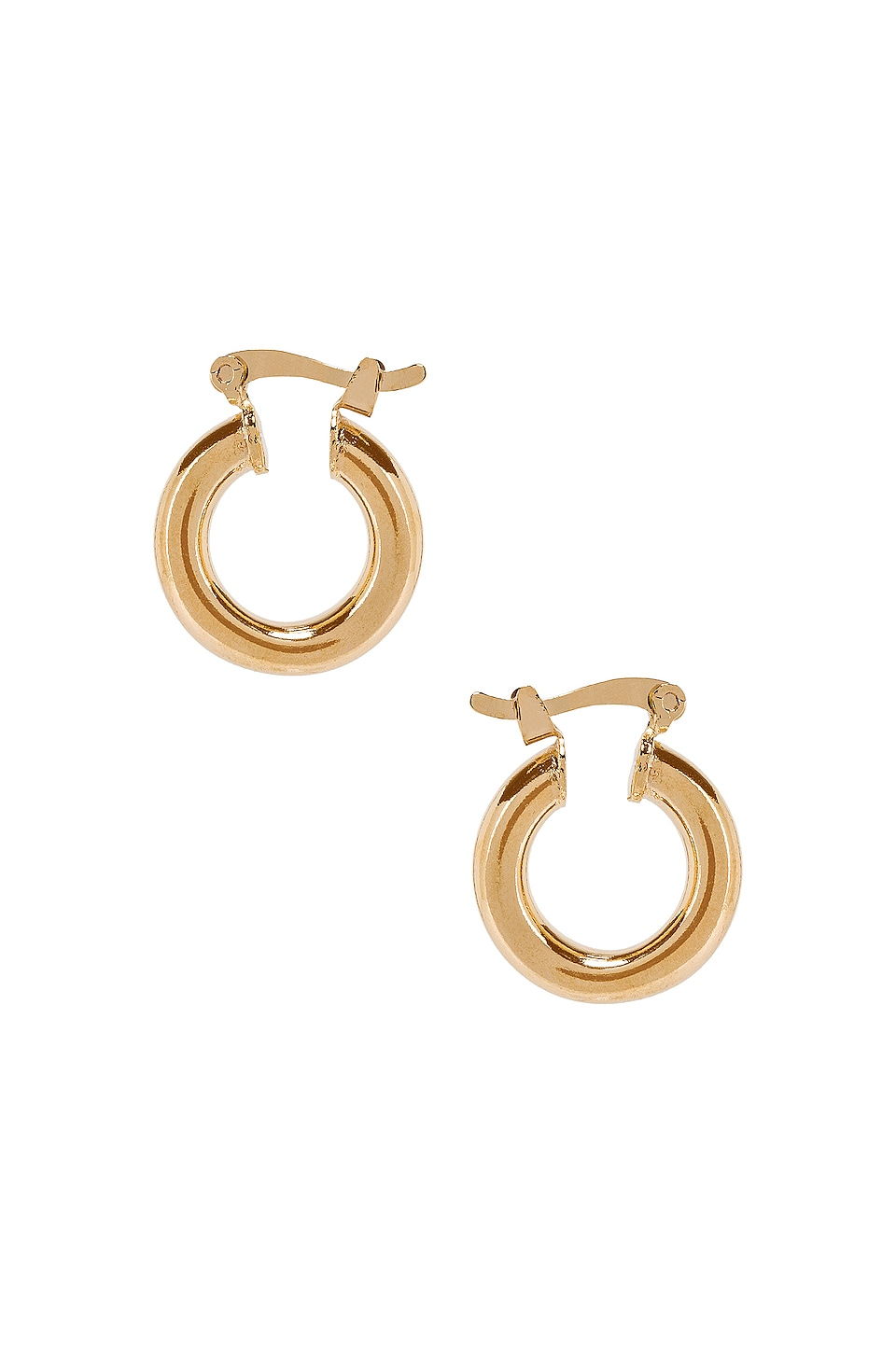 The M Jewelers NY Small Ravello Hoops in Gold