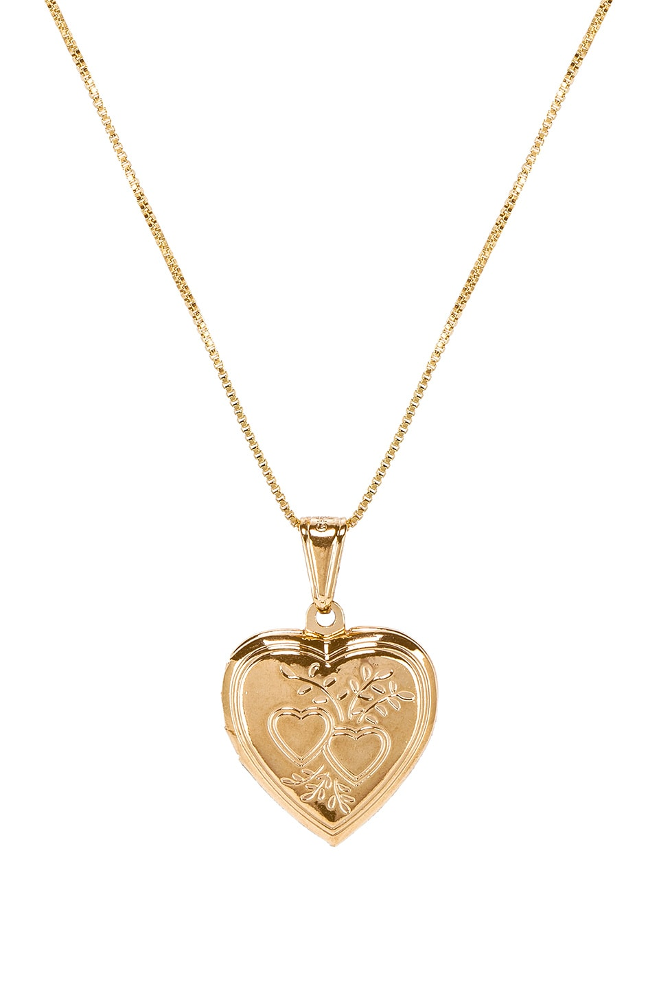 Bella Heart Locket Pendant