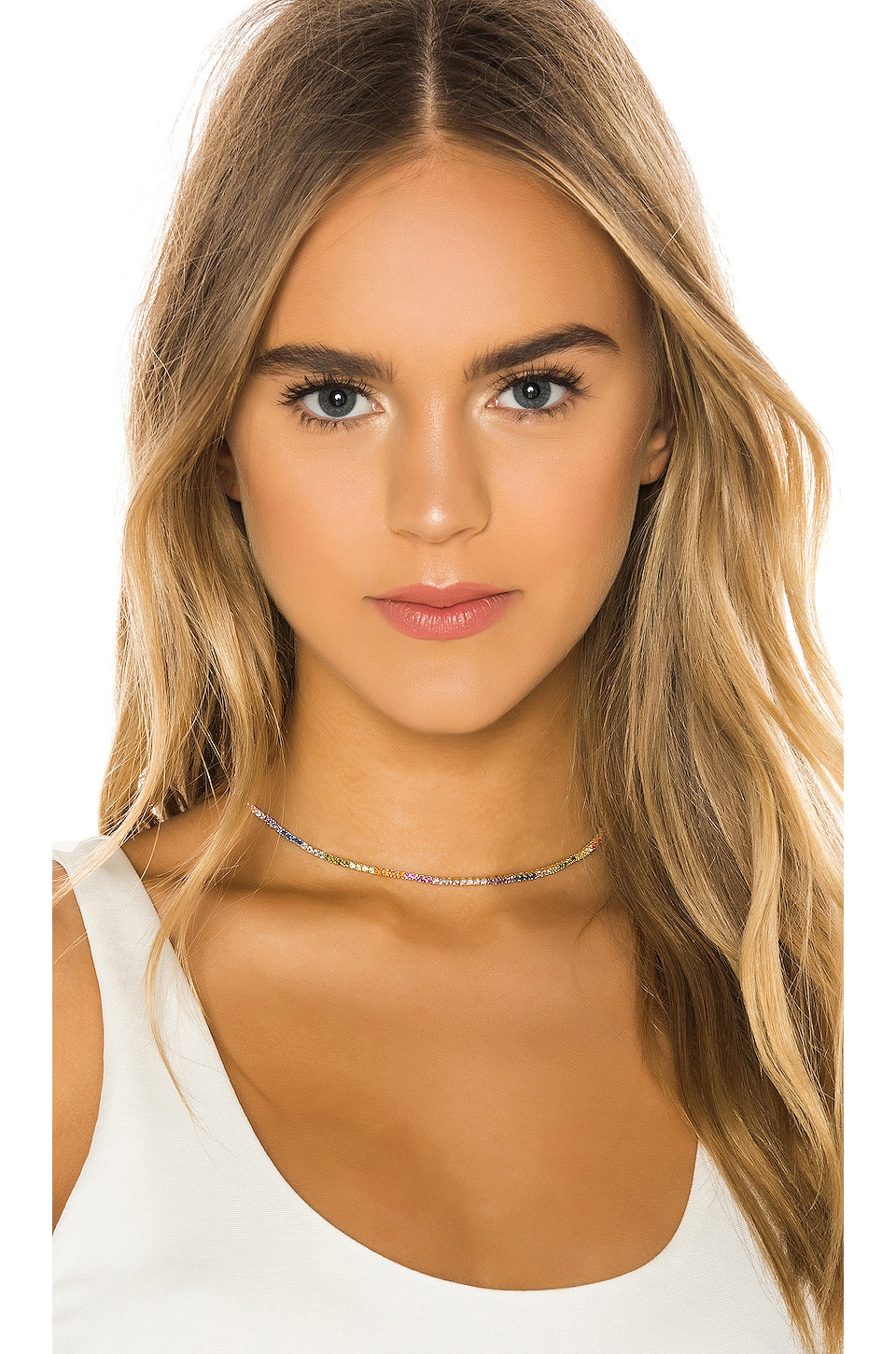 The M Jewelers NY Rainbow Chain Choker in Gold