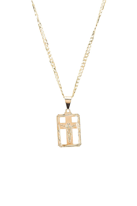 The M Jewelers NY ОЖЕРЕЛЬЕ MARTINA CROSS PENDANT