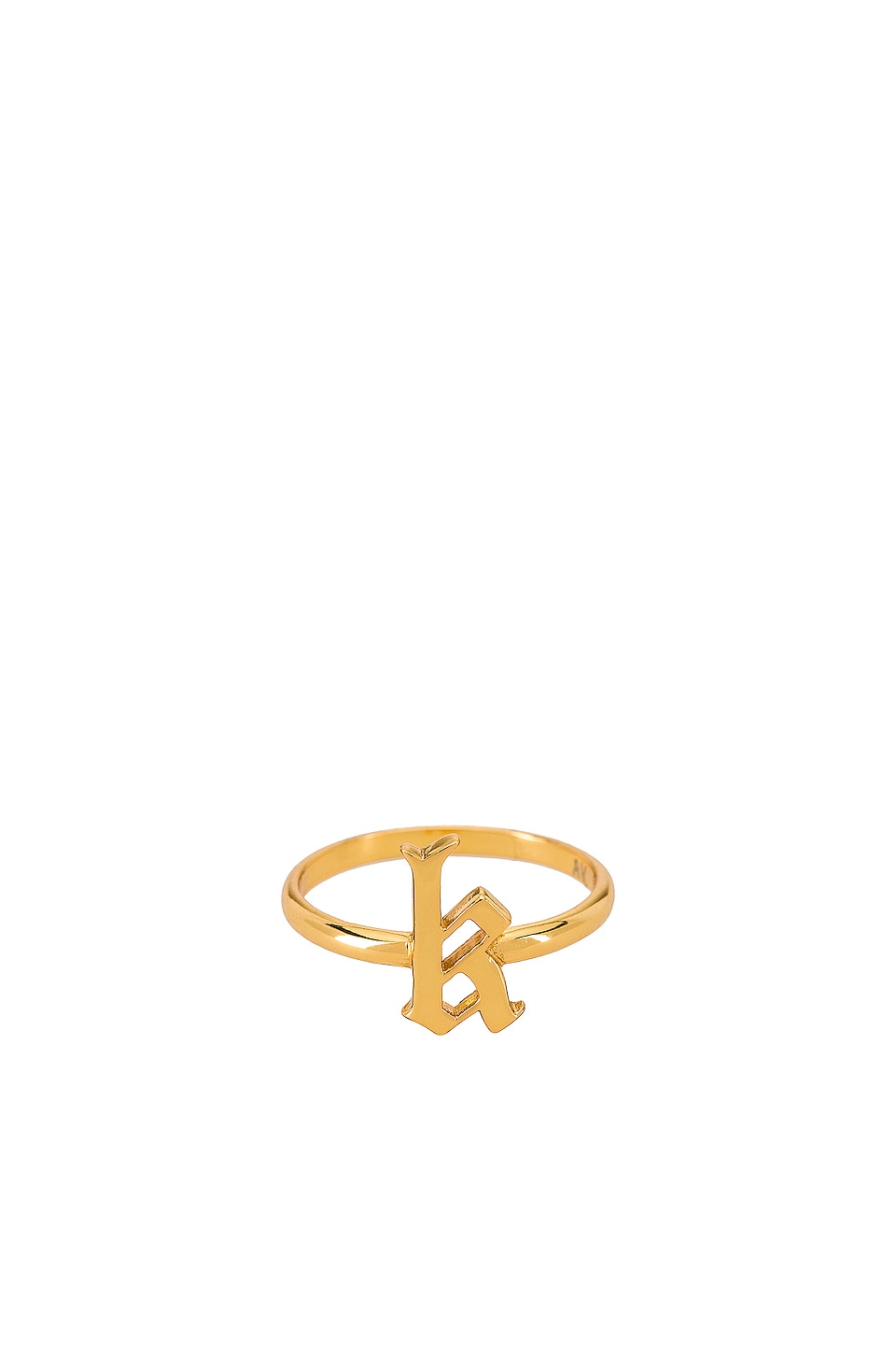 The M Jewelers NY КОЛЬЦО GOTHIC LETTER
