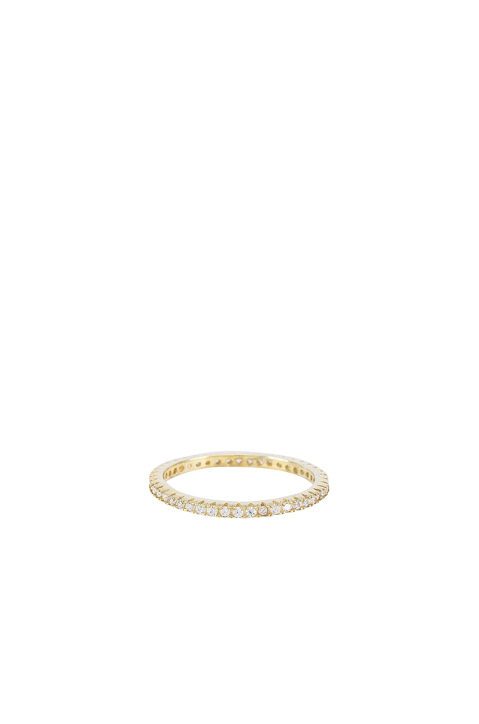 The M Jewelers NY The M Essential Pave Band in Gold