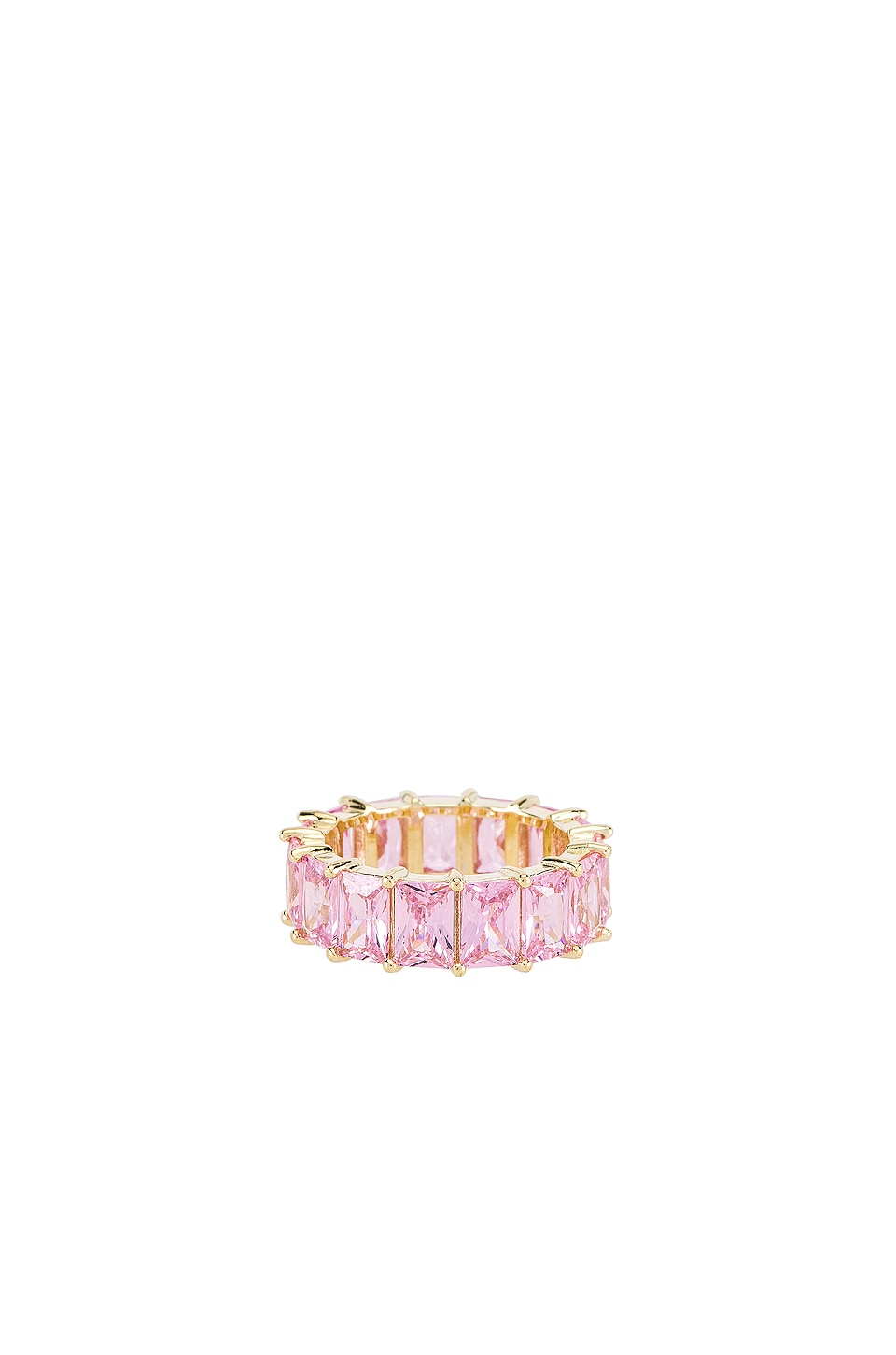 The M Jewelers NY Light Pink Colored Band in Pink