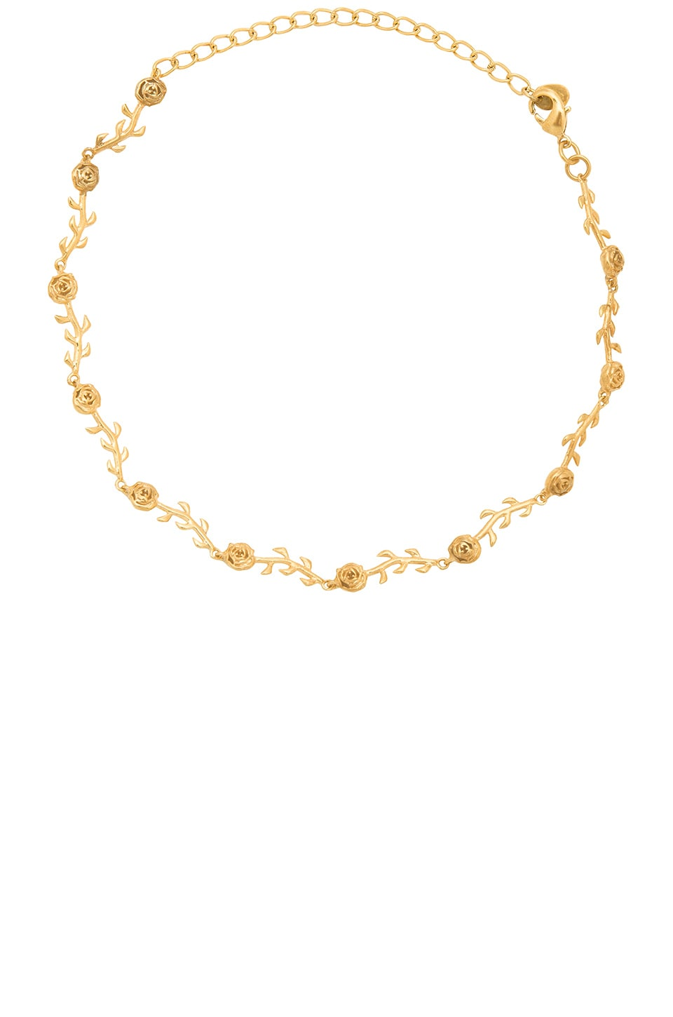 The Rose Choker in Metallic Gold The M Jewelers NY g36Lq