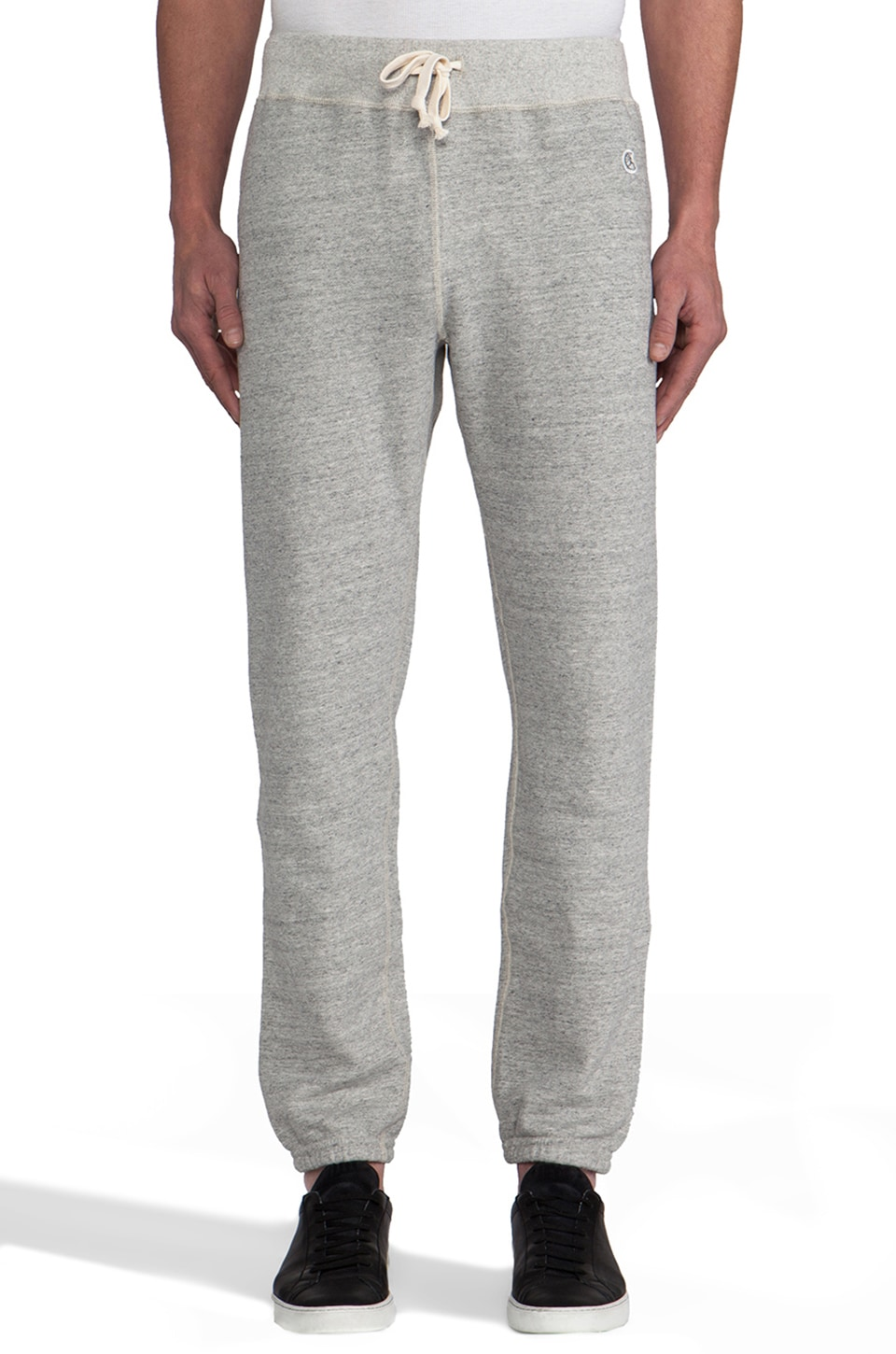 TODD SNYDER + Champion Sweatpant in Grey Heather