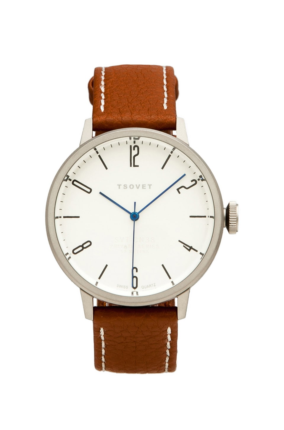 Tsovet SVT-CN38 38MM in Brown & White