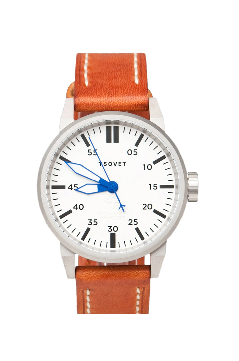 Tsovet SVT-FW44 Dial in Rust w/ Blue