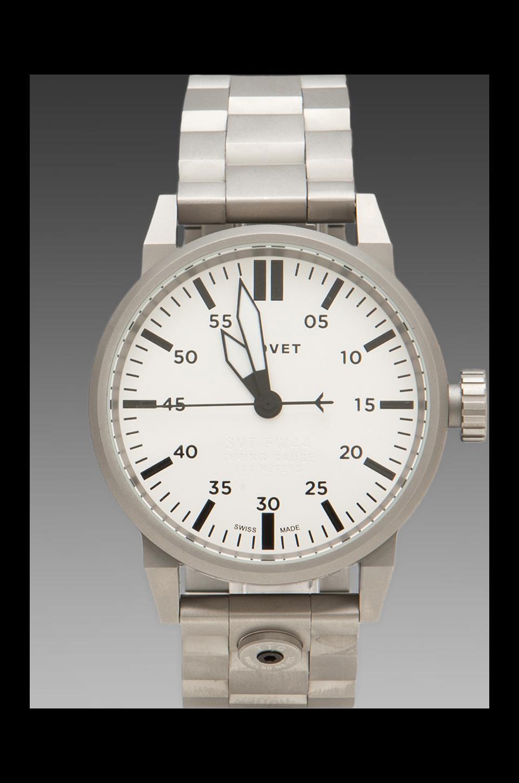 Tsovet SVT-FW44 in Silver/ White