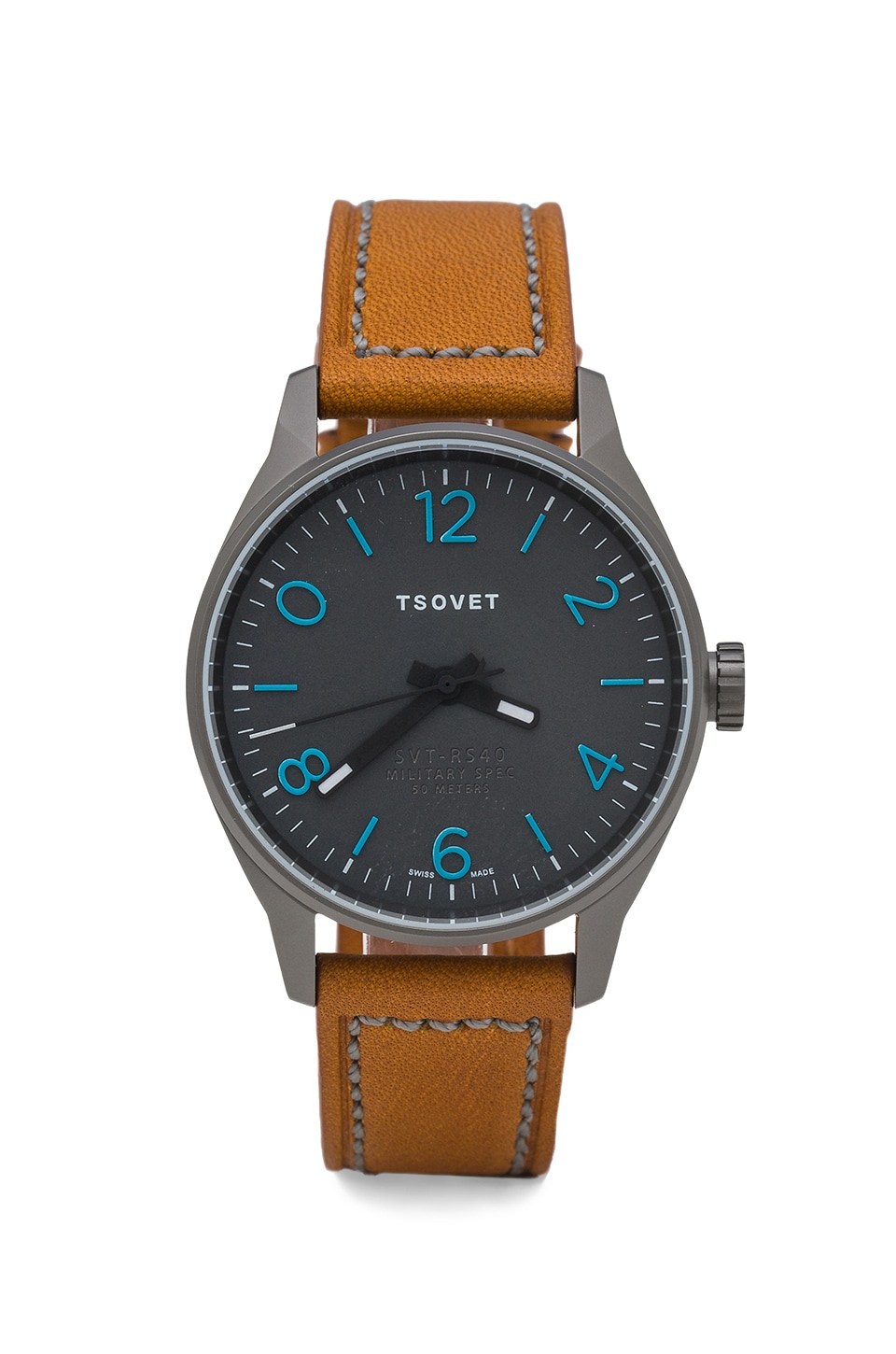 Tsovet SVT-RS40 in Gunmetal/Grey/Camel