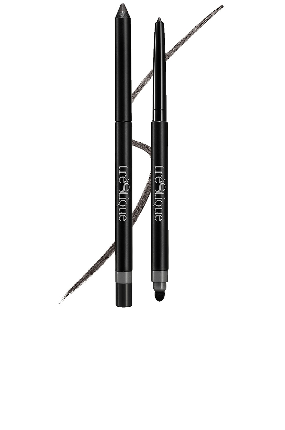 treStiQue Line, Sharpen & Smudge Eye Pencil in Santorini Black