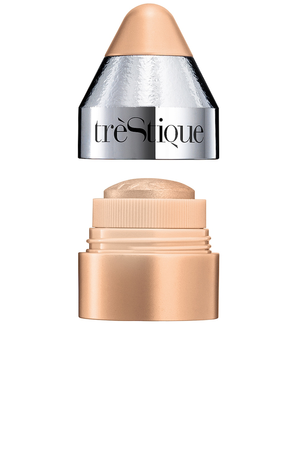 treStiQue Starlighter Powder Stick All Over Illuminator in Galactic Gold