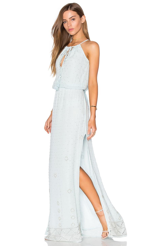Cinched maxi dress