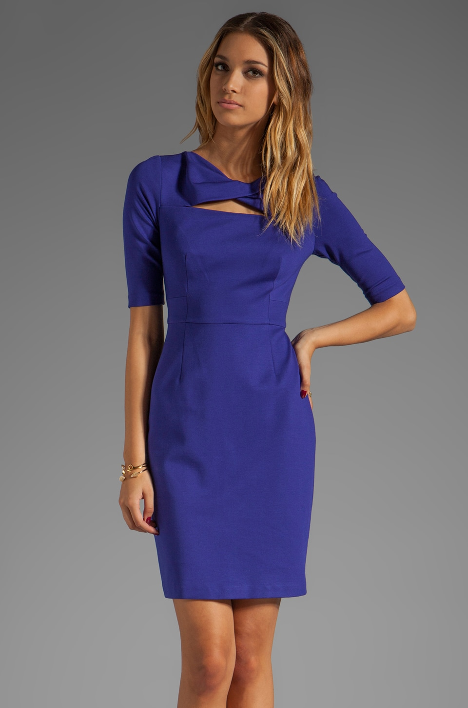 Trina Turk Romanova Dress in Q Blue