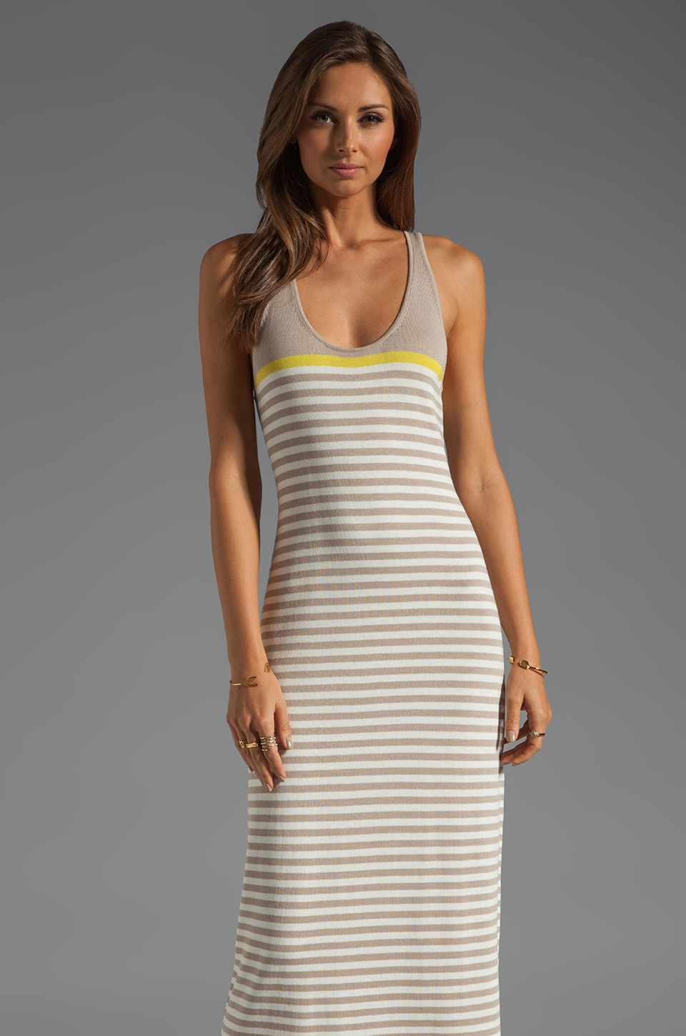 Trina Turk Artmageddon Maxi Dress in Boardwalk