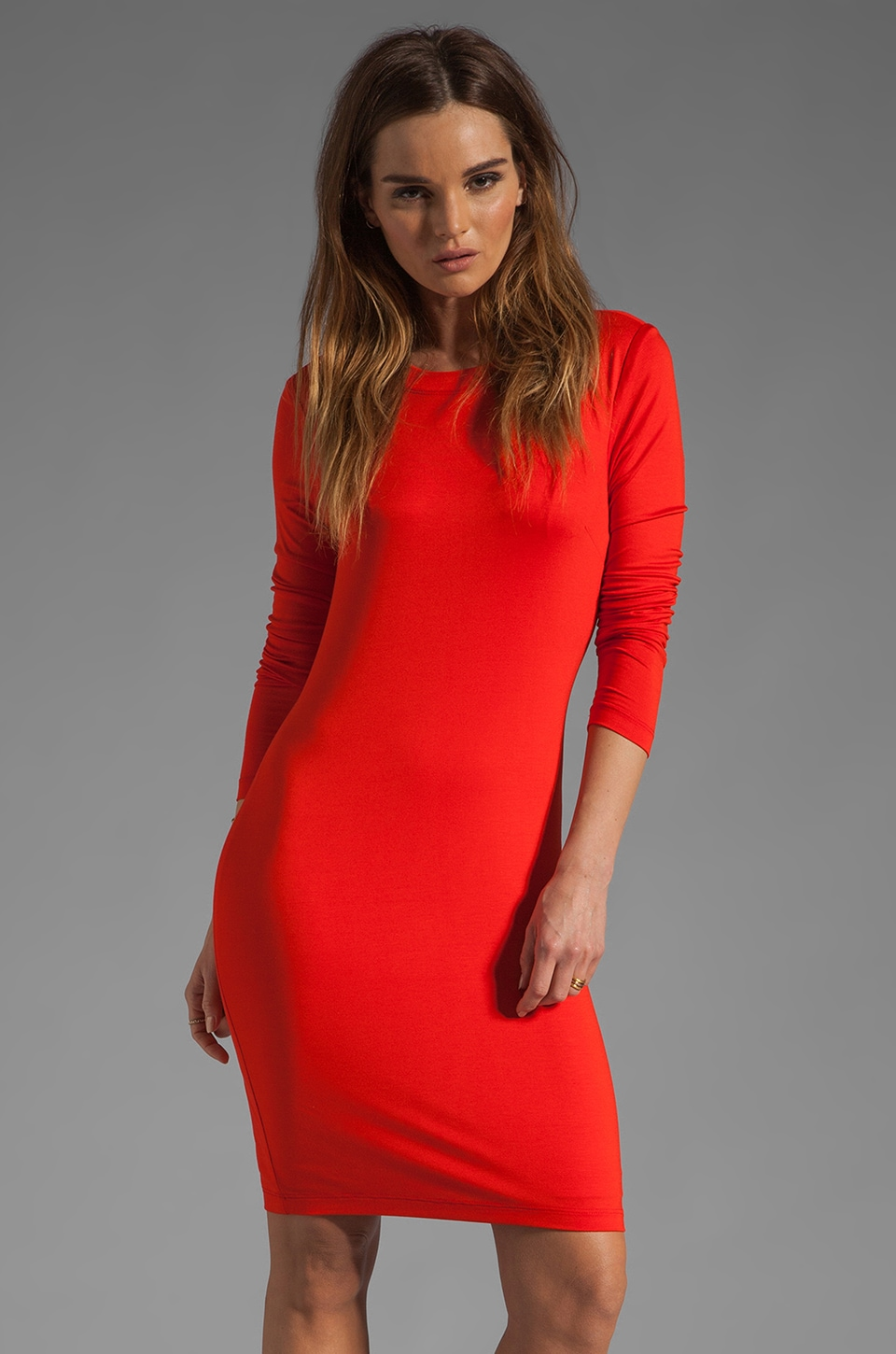 Trina Turk Bellingham Dress in Rally Red