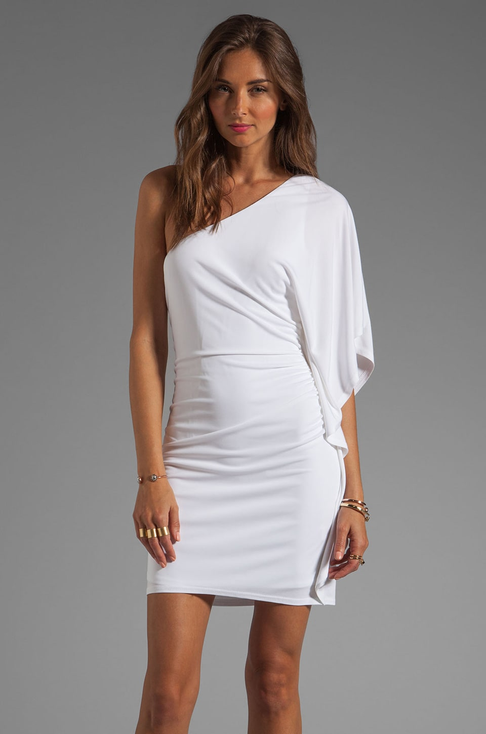 Trina Turk Cosmic Dress in White Wash