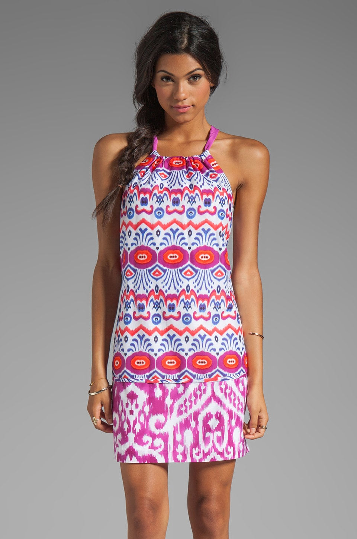 Trina Turk Menara Ikat Genevieve Dress in Multi