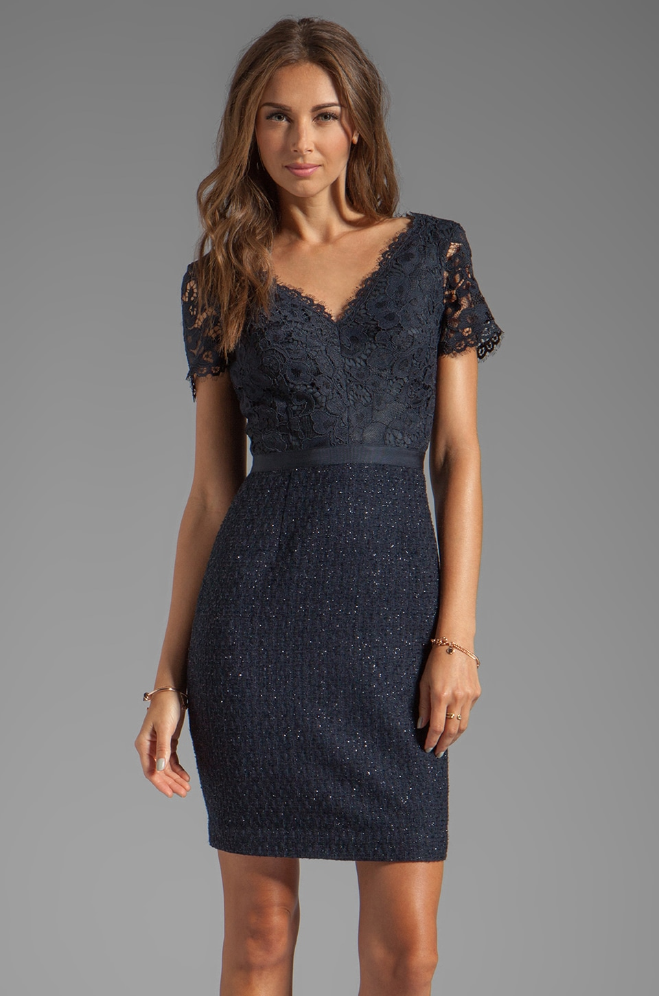 Trina Turk Keirnan Dress in Midnight