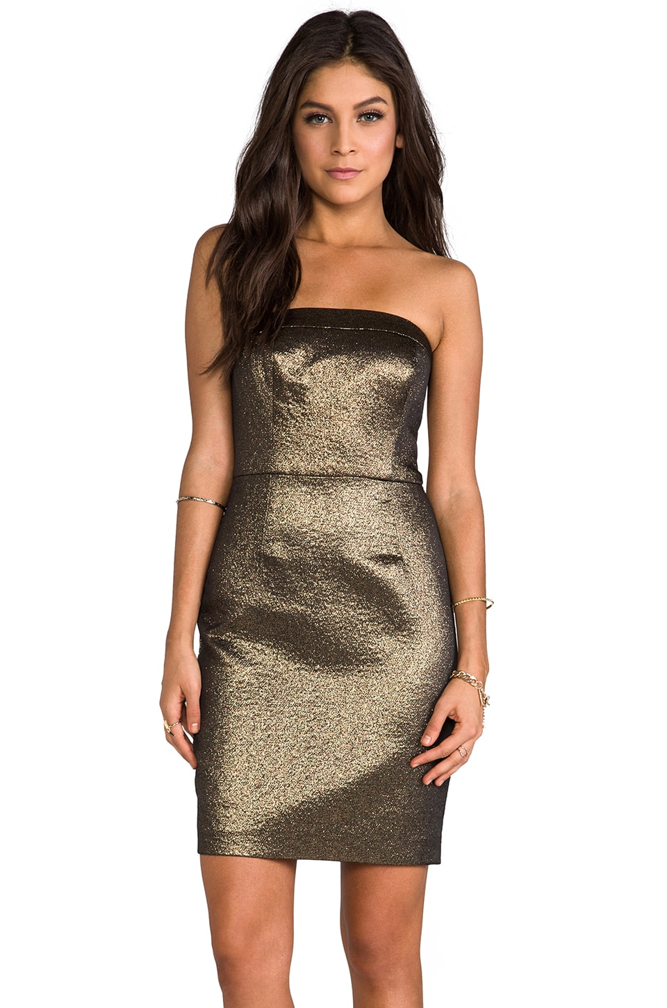 Trina Turk Jena Dress in Bronze