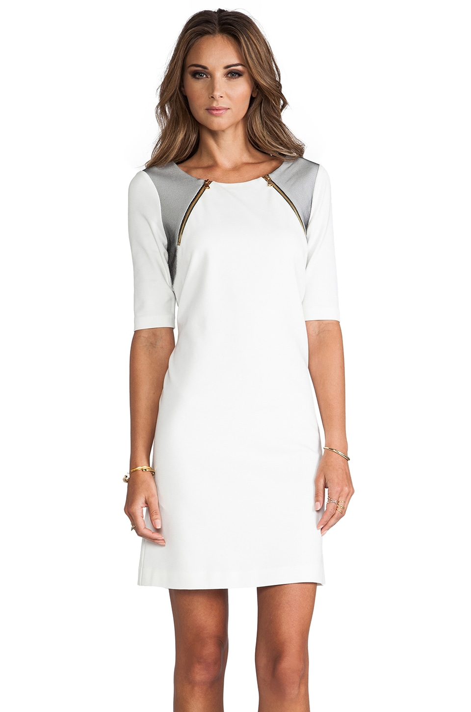 Trina Turk Milena Dress in Whitewash