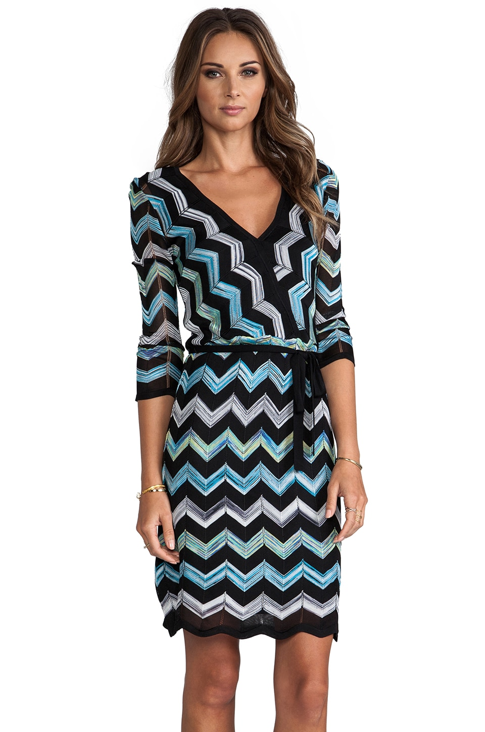 Trina Turk Harbor Dress in Multi