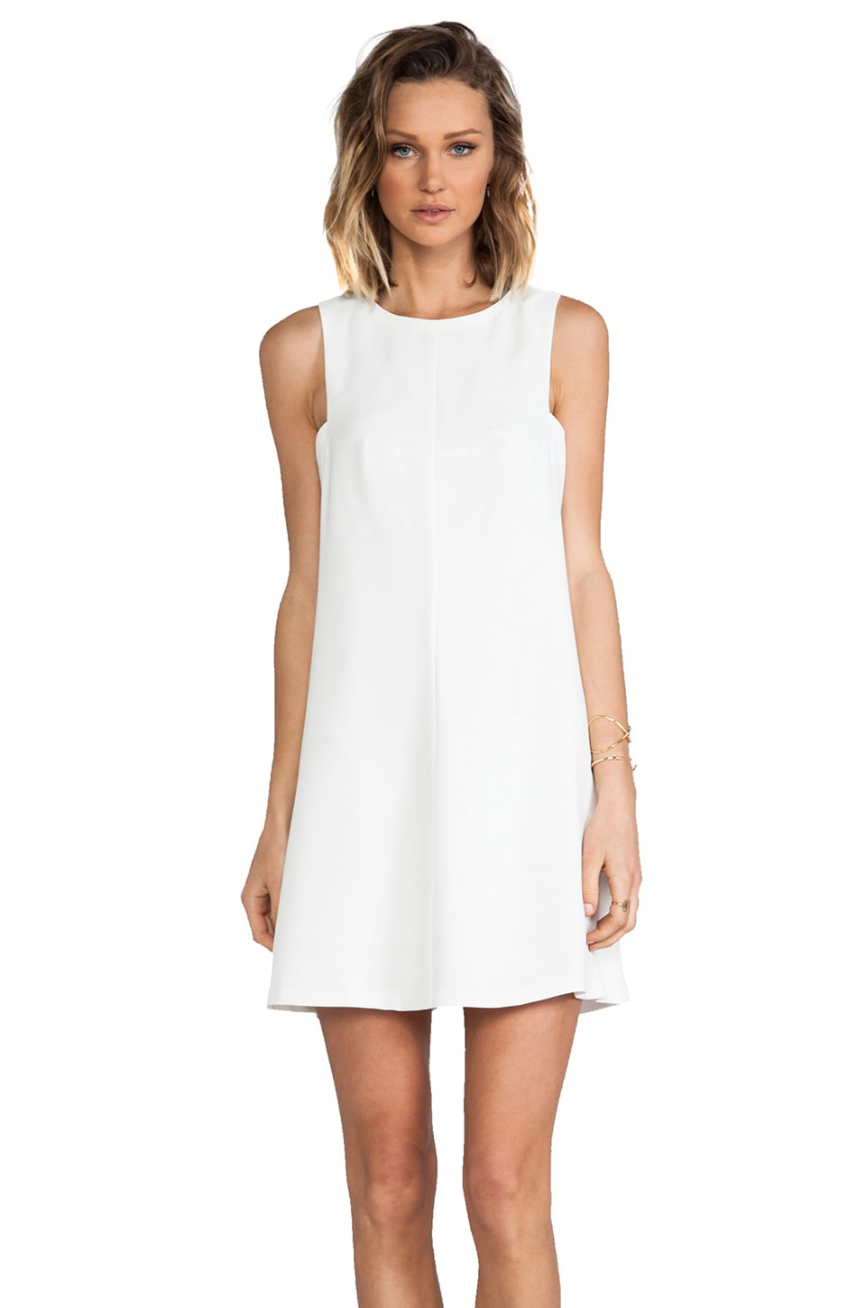 Trina Turk Lysett Dress in Whitewash