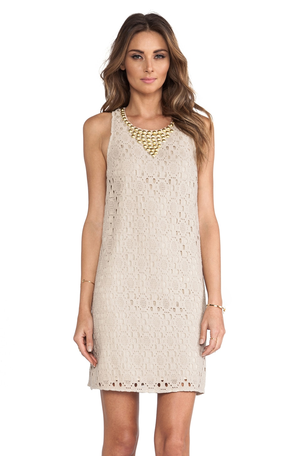 Trina Turk Avalon Dress in Driftwood