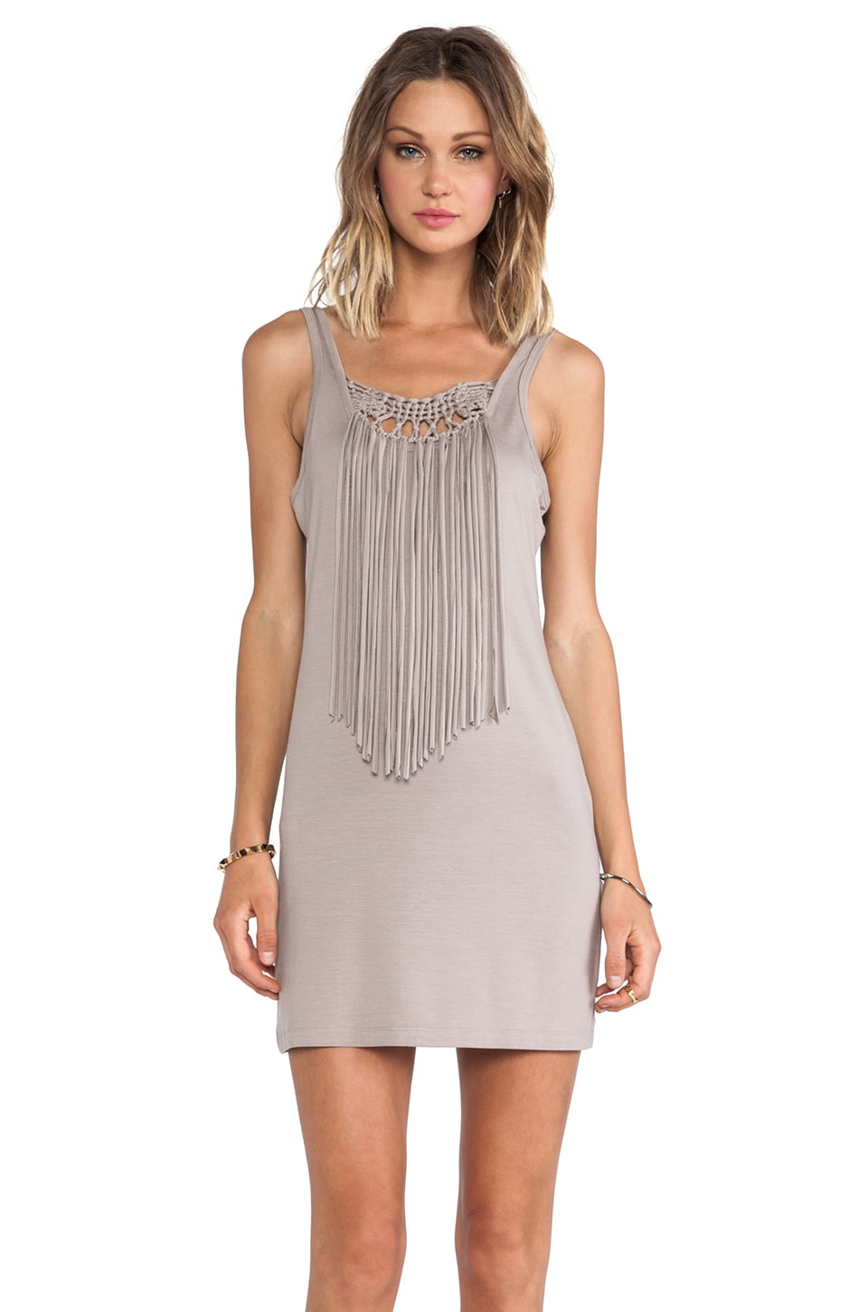 Trina Turk Althea Dress in Taupe
