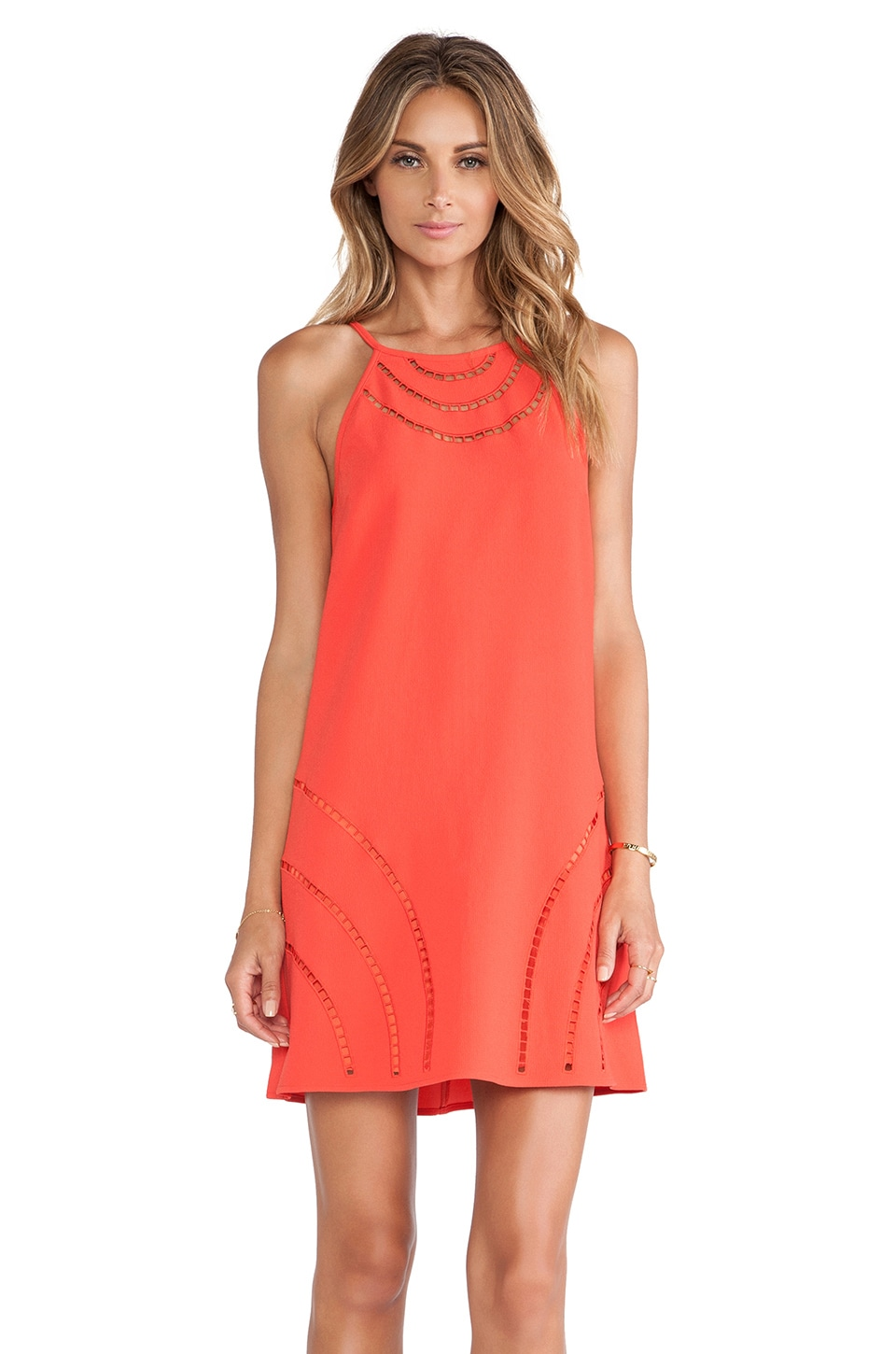 Trina Turk Morena Dress in Cayenne