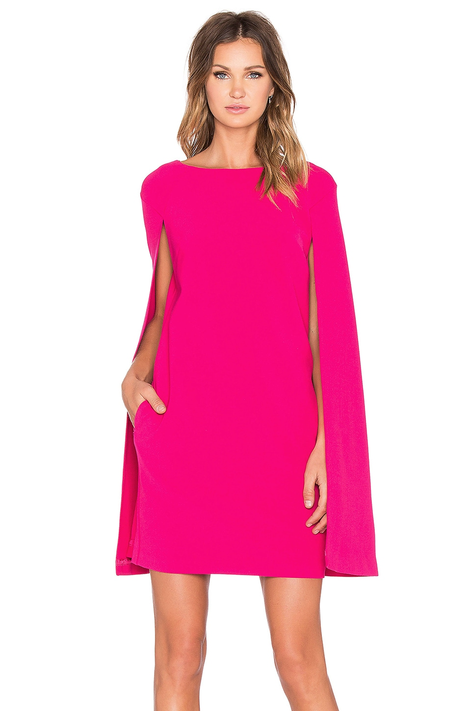 Trina Turk Gizela Mini Dress in Pink Clash | REVOLVE
