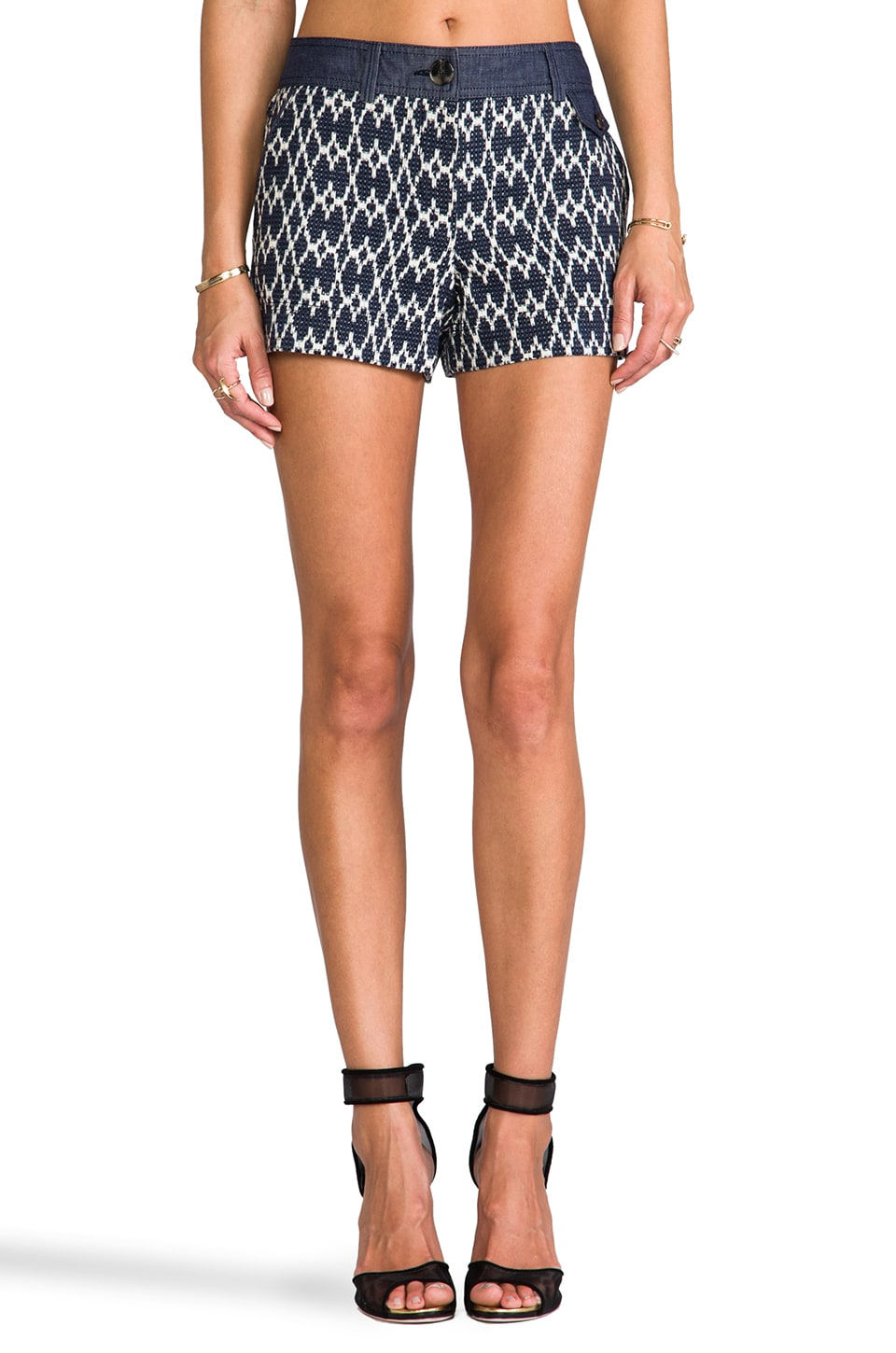 Trina Turk Santiago 2 Shorts in Navy