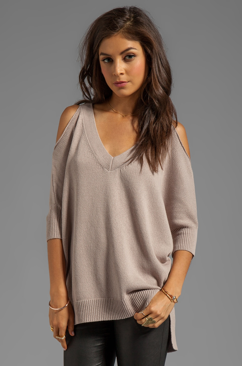 Trina Turk Madison Sweater in Sandstone