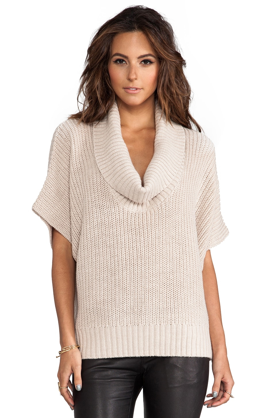 Trina Turk Zian Sweater in Camel