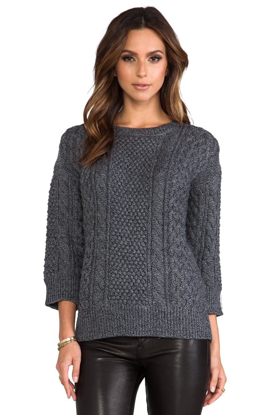 Trina Turk Haya Sweater in Charcoal