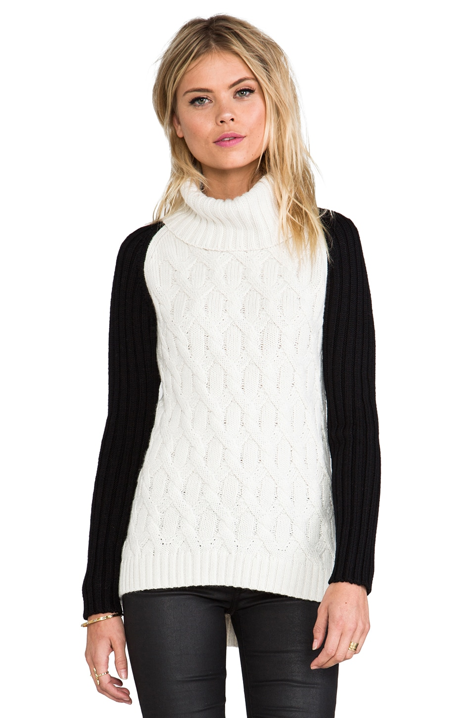 Trina Turk Darnell Sweater in Ivory